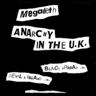 Anarchy in the U.K. - Image: Megadeth anarchy in the uk