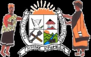 Mhlontlo Local Municipality - Image: Mhlontlo Co A