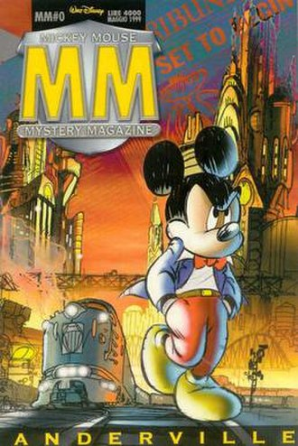 MM Mickey Mouse Mystery Magazine - Image: Mickey Mouse MM0