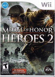 <i>Medal of Honor: Heroes 2</i> first-person shooter game