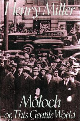 Moloch: or, This Gentile World - First edition cover, 1992