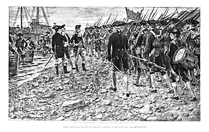 Richard Montgomery - The Embarkation of Montgomery's troops at Crown Point.