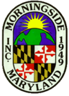 Official seal of Morningside, Maryland