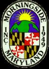 Morningside, Maryland resmi mühür