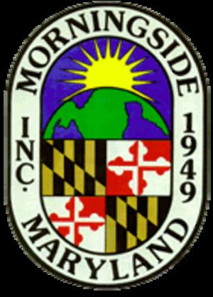 Morningside, Maryland - Image: Morningside MD Town Seal