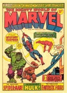 <i>The Mighty World of Marvel</i> Comic book series
