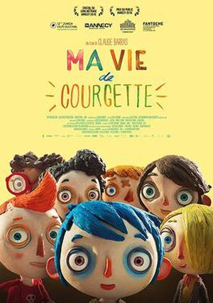 My Life as a Courgette - Film poster