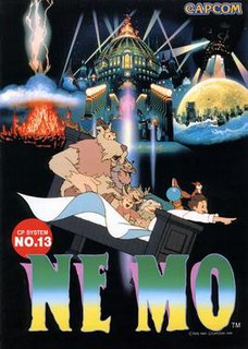 <i>Nemo</i> (arcade game) Fantasy arcade game released by Capcom in 1990