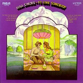 To Love Somebody (album) - Image: Ninasimonetolovesome body
