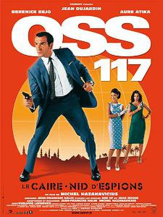 OSS 117: Cairo, Nest of Spies - French promotional poster