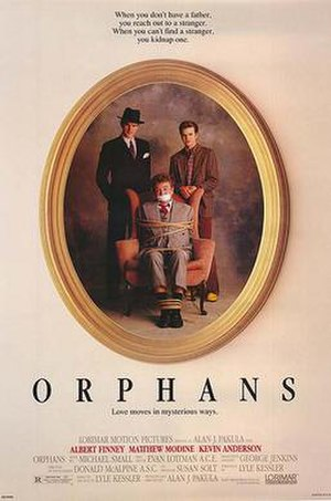 Orphans (1987 film) - Theatrical release poster