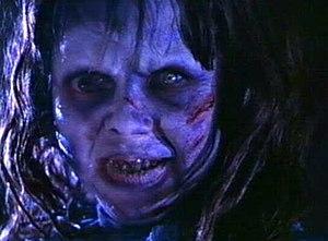 Regan MacNeil - Linda Blair as Regan MacNeil possessed by Pazuzu