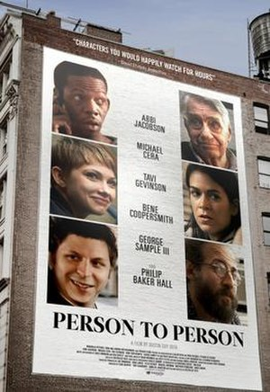 Person to Person (film) - Theatrical release poster