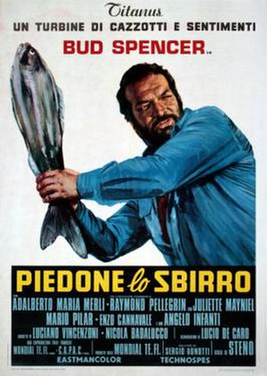Flatfoot (film) - Image: Piedone lo sbirro poster