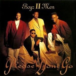 Please Don't Go (Boyz II Men song) - Image: Please Dont Go B2M