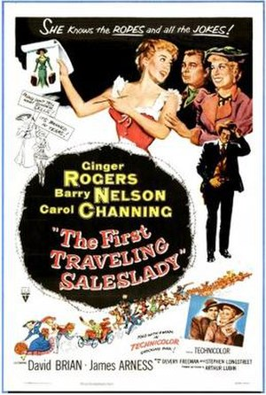 The First Traveling Saleslady - Film poster