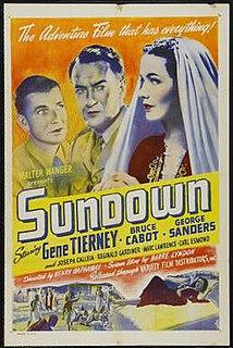 <i>Sundown</i> (1941 film) 1941 film by Henry Hathaway