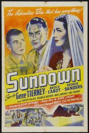 Sundown (1941 film) - Film poster