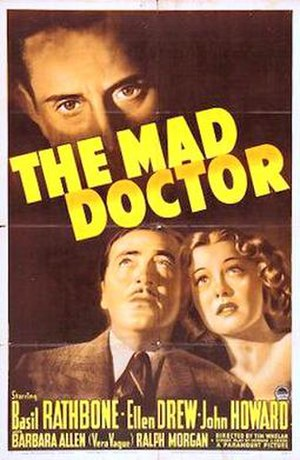The Mad Doctor (1941 film) - 1941 US theatrical poster