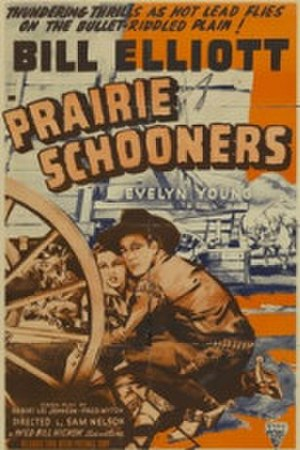 Prairie Schooners - Theatrical poster for the film