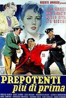 <i>Prepotenti più di prima</i> 1959 film