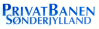 Privatbanen Sønderjylland - Image: Privatbanen Sønderjylland logo