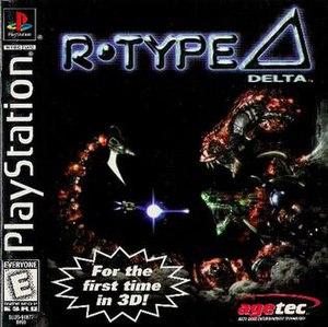 R-Type Delta - North American cover art