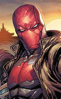 Red Hood alias used by multiple fictional characters and a criminal organization