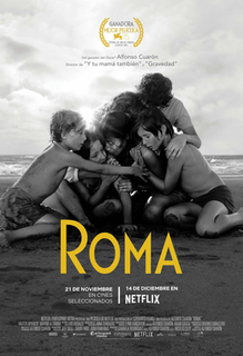 <i>Roma</i> (2018 film) 2018 film directed by Alfonso Cuarón