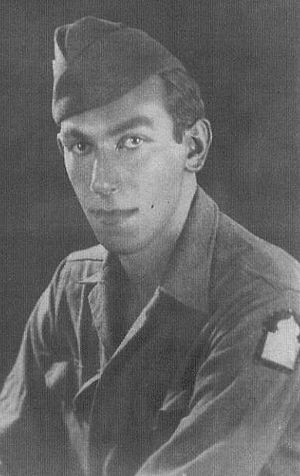Sam Kweskin - U.S. Army photo, taken July 1944
