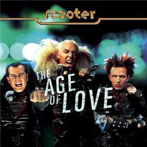 The Age of Love (song) - Image: Scooter Age single
