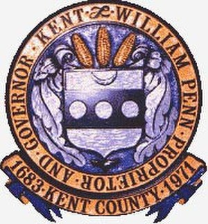 Kent County, Delaware - Image: Seal of Kent County, Delaware