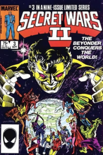 Beyonder Fictional character appearing in American comic books published by Marvel Comics