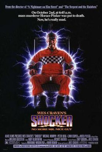 Shocker (film) - Theatrical release poster