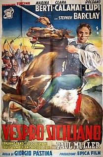 <i>Sicilian Uprising</i> 1950 film by Giorgio Pàstina