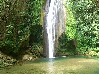 Sierra Gorda - Waterfall in the Sierra Gorda, 2007