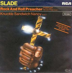 Rock and Roll Preacher (Hallelujah I'm on Fire)