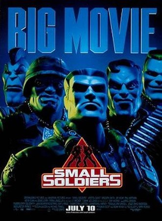 Small Soldiers - North American theatrical release poster