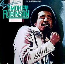 Smokey Robinson - Smokin' album cover.jpg