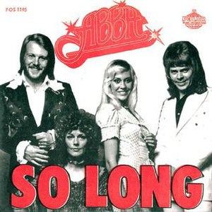 So Long (ABBA song) - Image: So Long (ABBA single cover art)