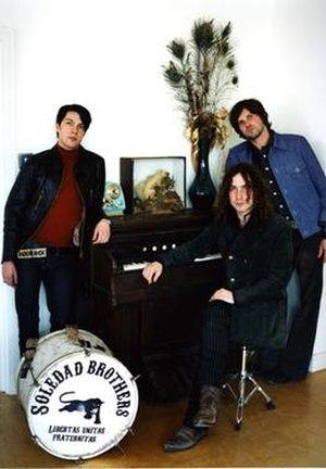 Soledad Brothers (band) - Image: Soledadbrothers