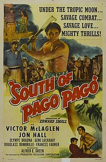 <i>South of Pago Pago</i> 1940 film by Alfred E. Green