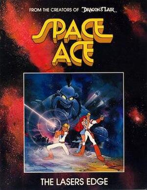 Space Ace - Image: Space Ace arcade flyer