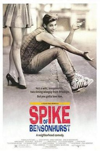 Spike of Bensonhurst - Theatrical Release Poster