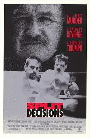 Split Decisions - Theatrical release poster