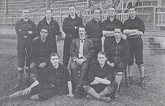 Sydney Uni Baseball Club - 1912 SUBC First Grade