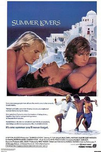 Summer Lovers - Summer Lovers theatrical poster