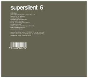 6 (Supersilent album) - Image: Supersilent 6 album cover