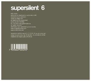 Supersilent - 6, Supersilent's fourth release