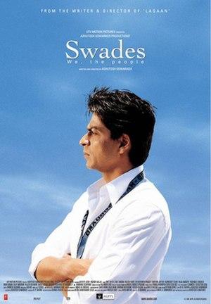 Swades - Image: Swades poster